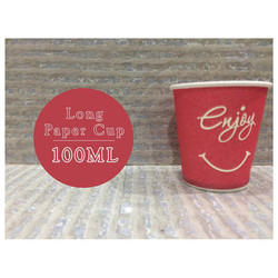 100 ml Long Paper Cup