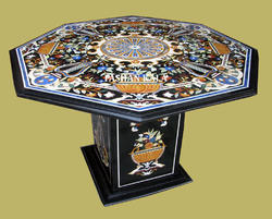 Pietra Dura Inlay Table