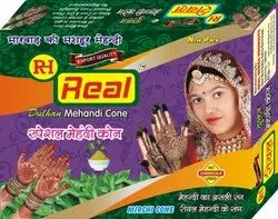REAL HENNA MEHANDI AND CONE