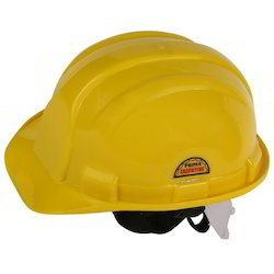Prima Safety Helmet Yellow Nape Strap, PSH-02