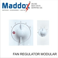 Polycarbonate White Fan Regulator Modular 4/5 Step