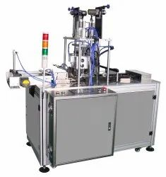 Single Phase 3.5 Automatic 3 Ply Earloop Fixing Machine