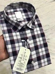 Men Check Shirts