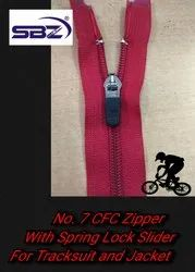 No 7 CFC Zip With Spring Lock Slider