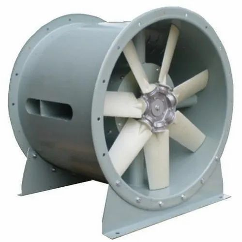 Single / Three Phase Aluminum Industrial Exhaust Fan