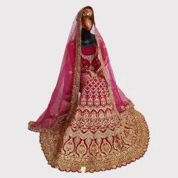 Bridal Heavy Work Lehenga