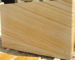 Teakwood Yellow Sandstone Slab