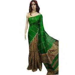 3ea7679fc8 Khesh Gurjari Saree - Bengal Cotton Gujrari Khesh Saree Latest Price ...