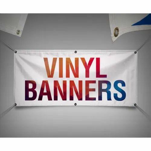 Multicolor Vinyl Banner Printing Service, S  R  Sodhi