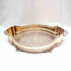 Mughal style decorative Brass servingTray