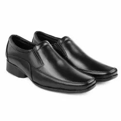Men Black Formal Shoes, Size: 6 to 10, Packaging Type: Box