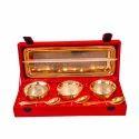 Gold Plated Handi Set