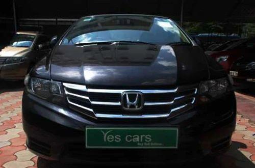 Black Honda City Black Car