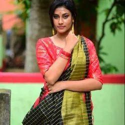 Soft Handloom Silk Saree