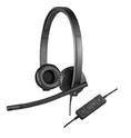 Logitech USB H570e Corded Double-Ear Headset 981-000574