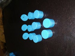 Plastic Blue FLIP TOP CAP -28MM, For Sanitizer