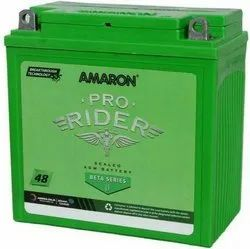 12 V Amaron Pro Bike Rider Battery, Capacity: 3 Ah, Battery Type: Dry Charged Battery