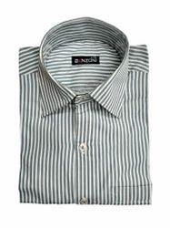 Benzoni Stripes Semi- Formal Striped Shirt
