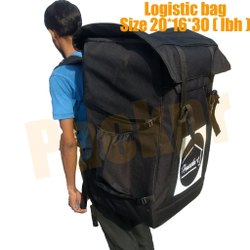 Black Logistics Delivery Bag