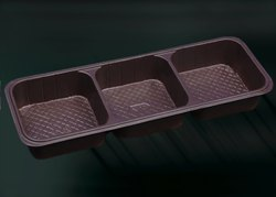 3 Sections Biscuit Packaging Blister Tray