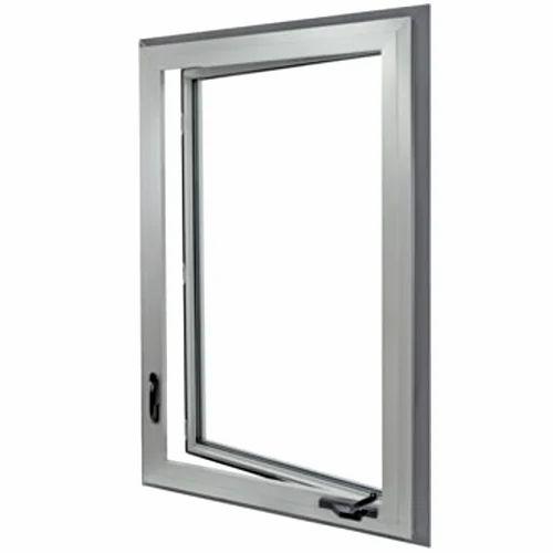 Hinge Sliver Aluminum Window Frame Dimensionsize 5 3 Feet Rs