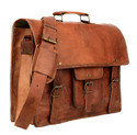 Vintage Leather Bag, Laptop Bag, Messenger Bag, Handmade Leather Bag