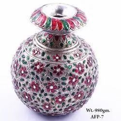 Silver Flower Pot, For Decoration
