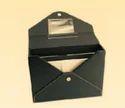 Black Leather Ulility Bag