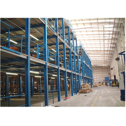 Sigma Three Tier Mezzanine Flooring