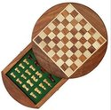 Perfect Gift, Large Wooden Chess Set With Storage, Wooden Magnetic Chess Board