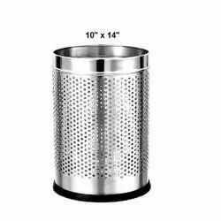 10 X 14 Inch Stainless Steel Dustbin