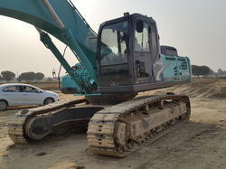 Used Spare Parts Of Excavator Kobelco SK-350 LC