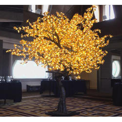 Yellow Color LED Tree