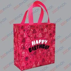 Happy Birthday Printed Non Woven Bag