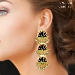 Designer Indo Western Earrings