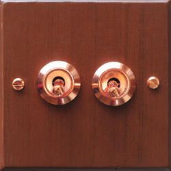 Brass Flush Switch