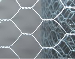 silver Hexagonal Wire Netting Roll, Material Grade: Gi, Thickness: 0.46 Mm