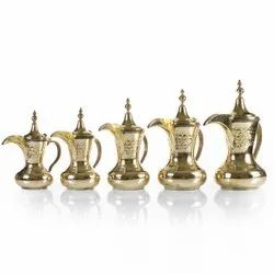 Customization Coffee Pot Brass