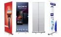 Rectangle Aluminium Roll up Standee, For Banner Display