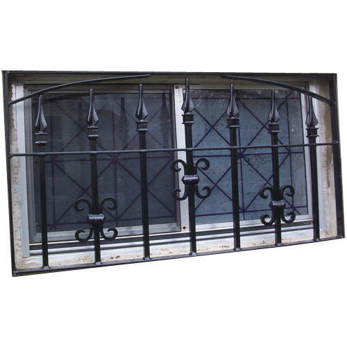 Wrought Iron Grill For Window 11