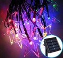 Hardoll Solar Fairy Star String Decoration Light