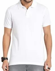 Mens Polo T Shirt with Collar