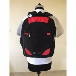 Black-Red Shoulder Backpack