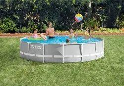 Intex Metal Framed Swimming Pool 15 Feet Diameter
