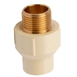 CPVC Male Adapter Brass Threaded