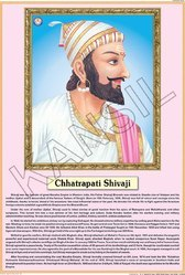 Shivaji  For Life Sketch Of Great Men Chart