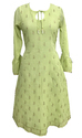 Lavanya Green A Line Kurta With Lining Without Slit
