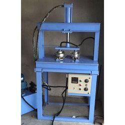 Double Die Hydraulic Paper Dona Making Machine