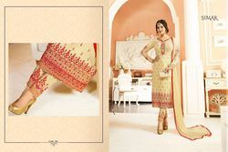 Embroidered Churidar Salwar Suit