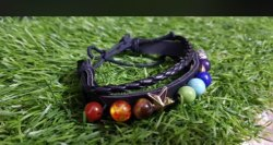 Gemstone Fashion 7 Chakra Men Bracelets